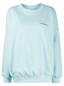 Styland oversized logo jumper - Blue