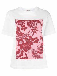 Ports 1961 tropical-print T-shirt - White