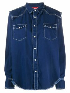 Denimist chest pockets denim shirt - Blue