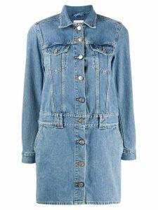 GANNI short denim dress - Blue