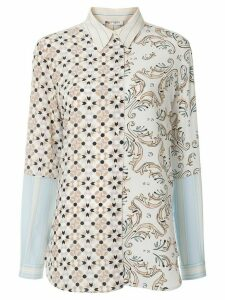 Ports 1961 multi-print long-sleeved shirt - 001