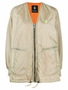 MARCELO BURLON COUNTY OF MILAN Atmosphera print bomber jacket -