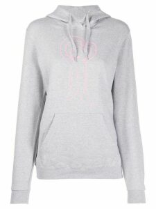 Société Anonyme cartoon print hoodie - Grey