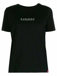 Hogan logo print T-shirt - Black