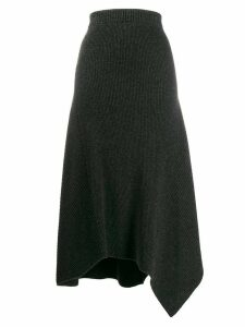 Pringle of Scotland travelling ribbed skirt - Grey