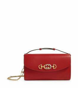 Gucci Small Leather Zumi Shoulder Bag