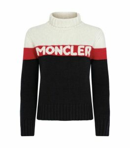 Moncler Knitted Logo Sweater