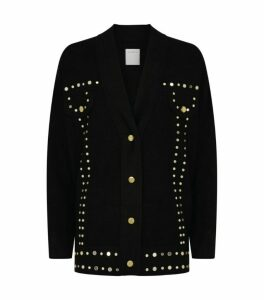 Sandro Paris Studded Cardigan
