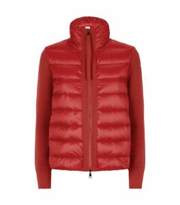 Moncler Quilted Cardigan