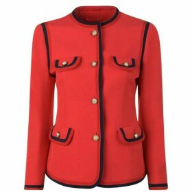 Gucci Pearl Button Jacket