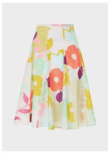 Melina Skirt White Multi