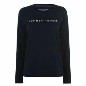 Tommy Bodywear Long Sleeve Logo T Shirt