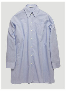 Acne Studios Oversized Shirt in Blue size XXS - XS