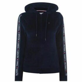 Tommy Bodywear Velour Tape Hoodie