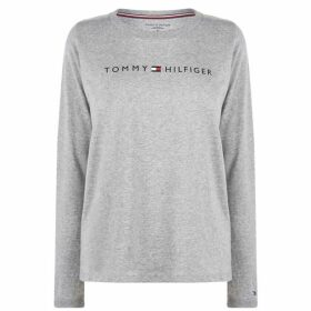 Tommy Bodywear Long Sleeve Logo T Shirt