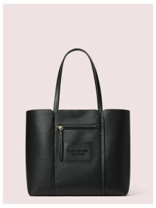 Shadow Large Tote - Black - One Size
