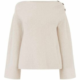 Oasis Tilly Button Shoulder Jumper