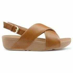 FitFlop  SANDALS  LULU CROSS BACK STRAP K03  women's Sandals in Brown