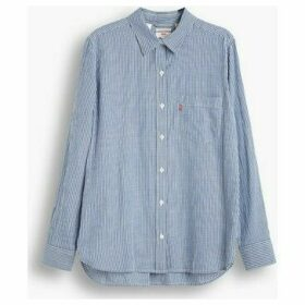 Levis  77653 0013 ULTIMATE BF SHIRT ANN  women's Shirt in Blue