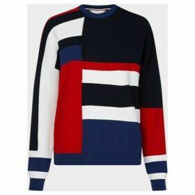 Tommy Hilfiger  WW0WW27170 HAILEEN  women's Sweater in Blue