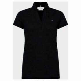 Tommy Hilfiger  WW0WW27511 ANGIE POLO  women's Polo shirt in Black