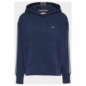 Tommy Jeans  DW0DW07345 TONAL TAPE  women's Sweatshirt in Black