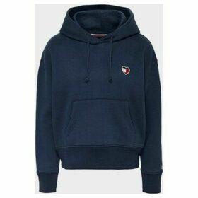 Tommy Jeans  DW0DW07544 MODERN LOGO  women's Sweatshirt in Black