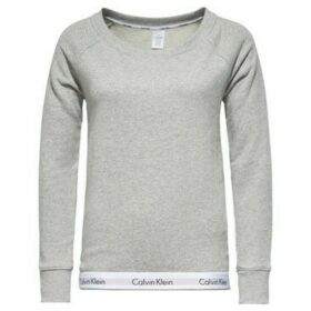 Calvin Klein Jeans  000QS5718E TOP SWEATSHIRT  women's Sweatshirt in Grey