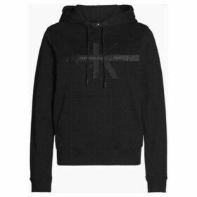 Calvin Klein Jeans  J20J213064 TAPING HOODIE SWEATER Women BLACK  women's Sweatshirt in Black