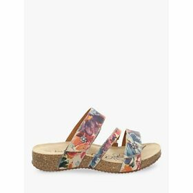 Josef Seibel Tonga 54 Triple Strap Leather Sandals