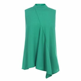 French Connection Abena Top - Bright Green