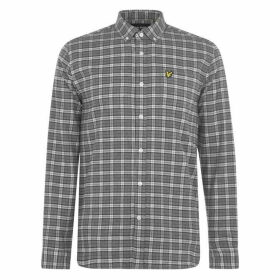 Lyle and Scott Check Flannel Shirt - Grey / Chk Z765