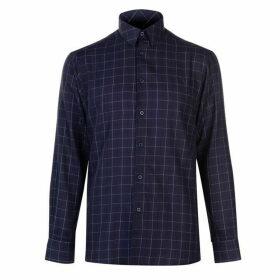 Pierre Cardin Long Sleeve Shirt Mens - Navy Window