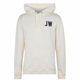 Jack Wills Wildshaw Graphic Hoodie - White