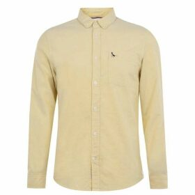 Jack Wills Wadsworth Plain Oxford Shirt - Saffron