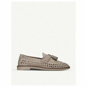 Oscar tassel leather loafers