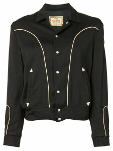 Fake Alpha Vintage 1950s MC blouse - Black