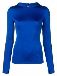 No Ka' Oi fitted sports sweater - Blue