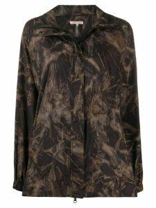 Filippa K Soft Sport Raven tie-dye track jacket - Brown