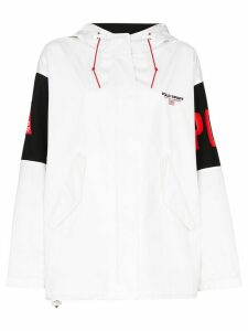 Polo Ralph Lauren logo-appliqued sports jacket - White