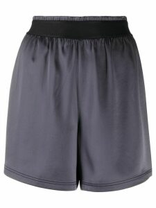 Filippa K Soft Sport high-waisted track shorts - Grey