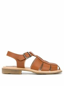 Paraboot Chasse cage sandals - Brown