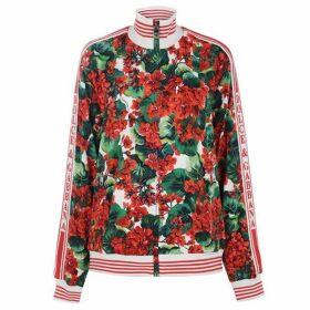 Dolce and Gabbana Portofino Print Cady Sweatshirt