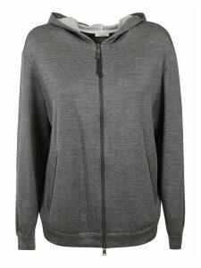 Brunello Cucinelli Hooded Zipped Jacket