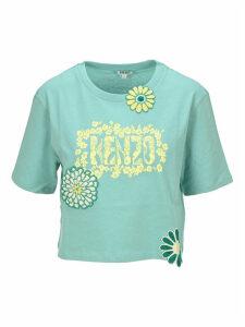 Kenzo Boxy mermaids & Flowers T-shirt