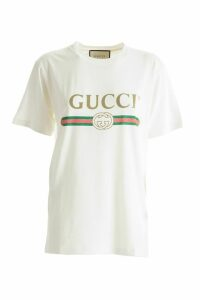 Gucci oversized faded crew neck t-shirt