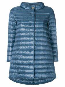 Herno midi padded jacket - Blue