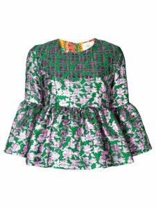 La Doublej Smurfette top - Green