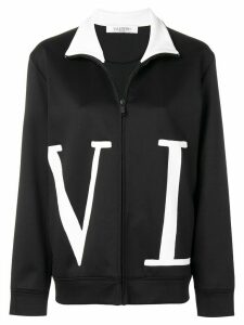 Valentino VLTN zip-up sweatshirt - Black