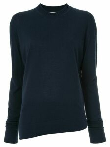 Studio Nicholson long-sleeve fitted sweater - Blue